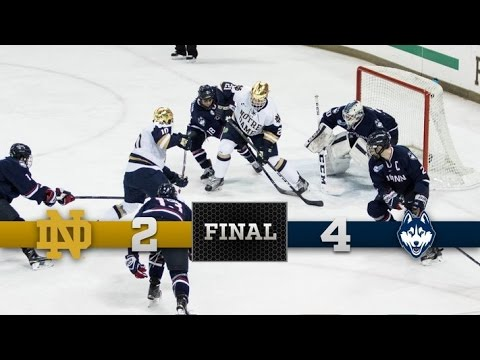 Top Moments: Notre Dame Hockey vs Connecticut
