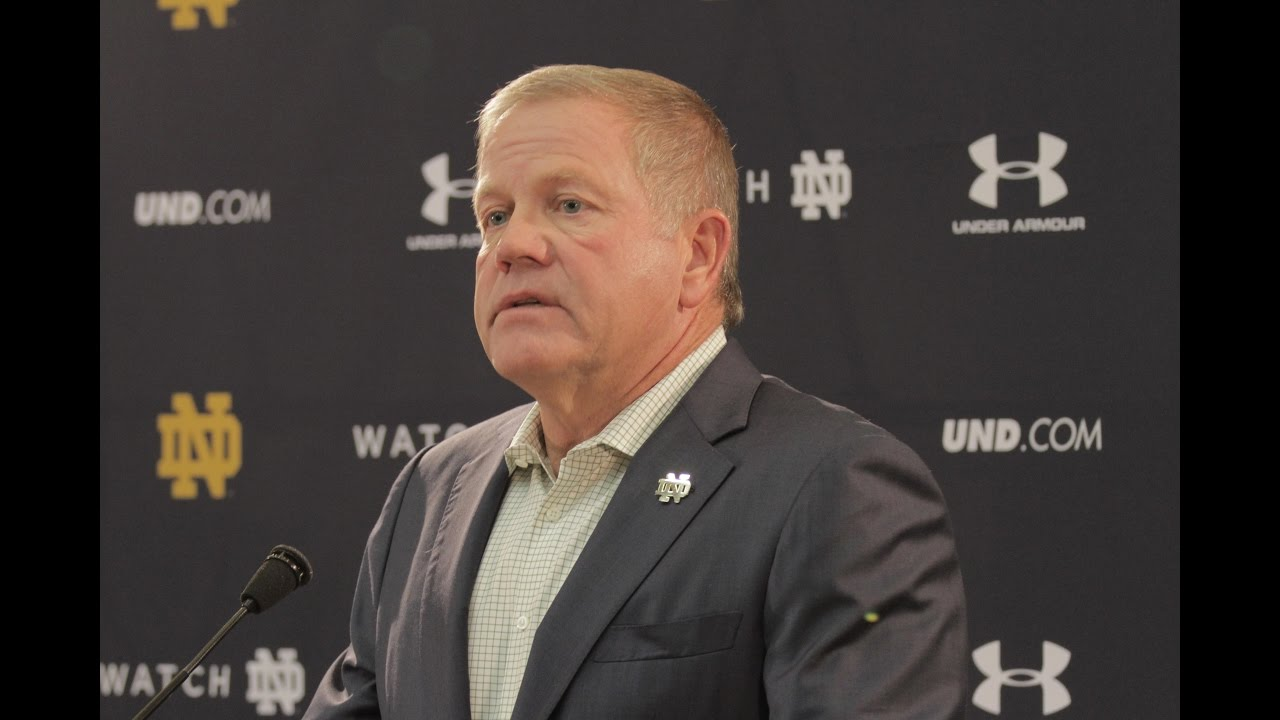 Notre Dame Football NC State Press Conference