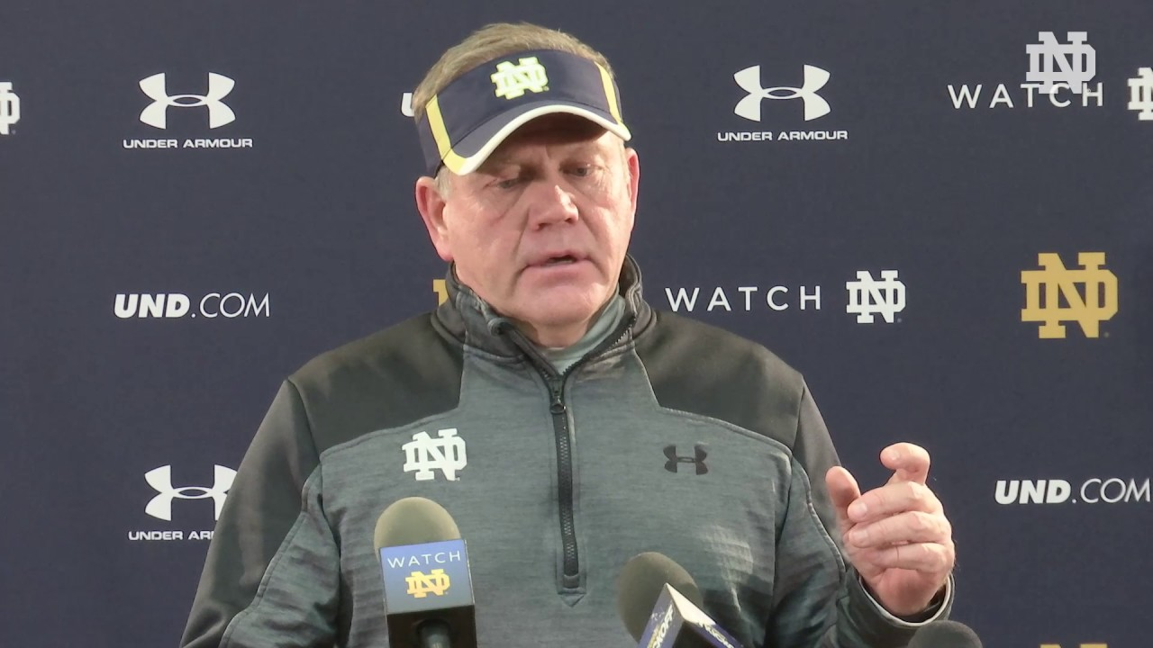 Brian Kelly Press Conference Oct 27
