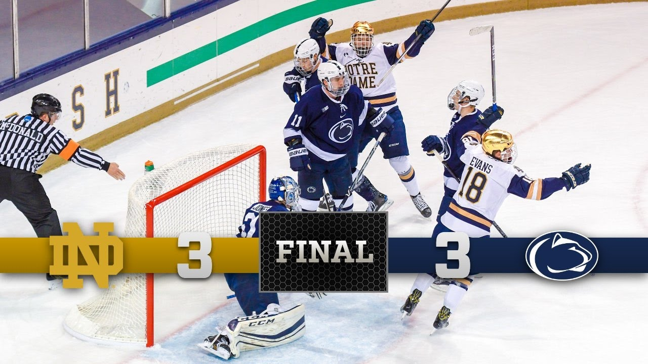 Top Moments: Notre Dame Hockey vs Penn State