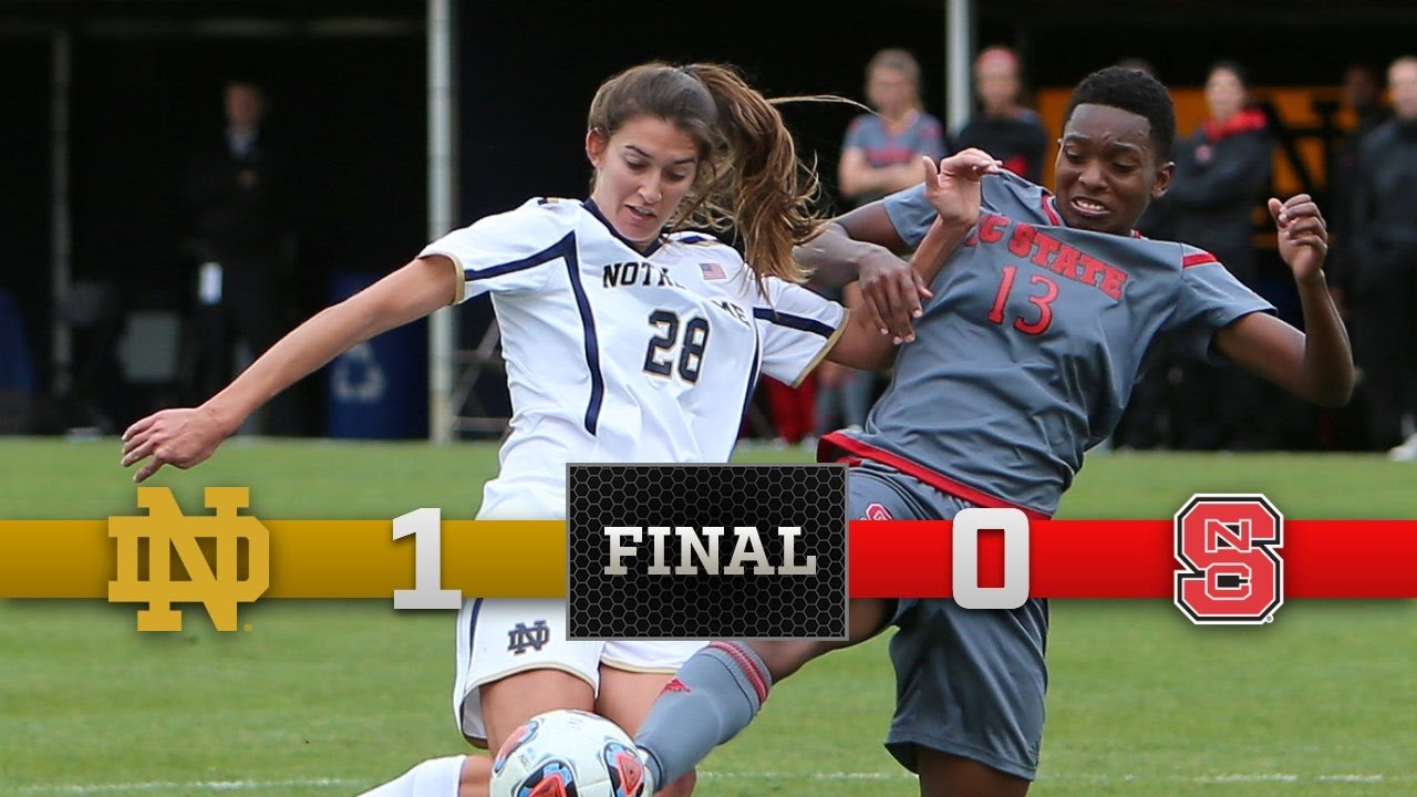 Top Moments: Notre Dame Womens Soccer vs NC State