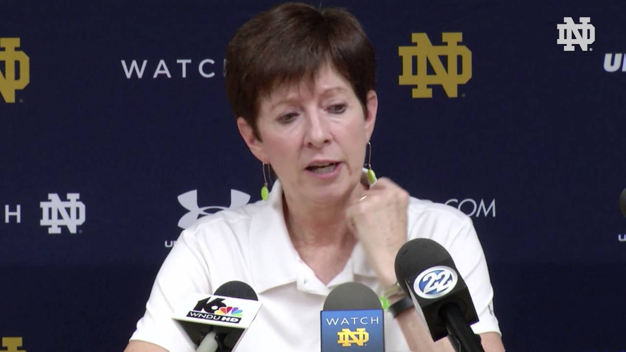 Muffet McGraw Press Conference 10/17
