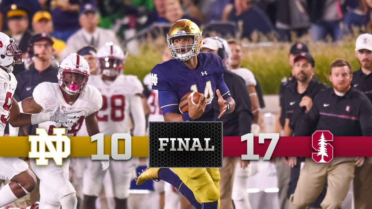 Notre Dame vs Stanford Highlights