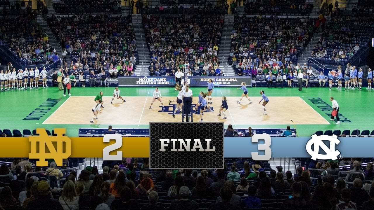 Top Moments: Notre Dame Volleyball vs North Carolina