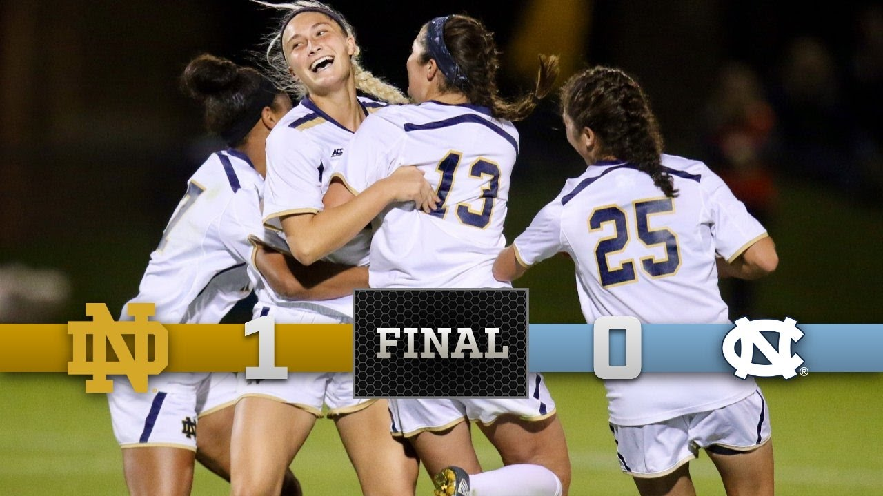 Top Moments - Notre Dame Women's Soccer vs. North Carolina