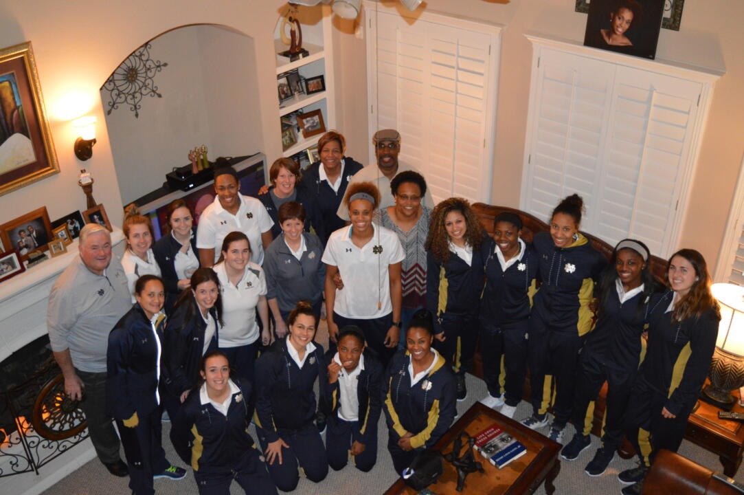 The Irish gathered for dinner on Monday night at Brianna Turner's home in the Houston suburb of Pearland, Texas.