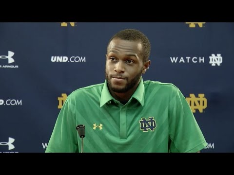 Torii Hunter Jr. Press Conference - Navy Week