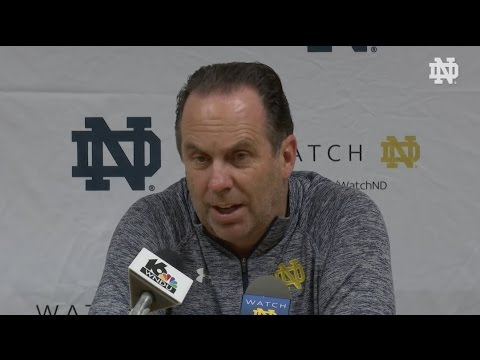 Mike Brey Post-Game Press Conference - Mercy