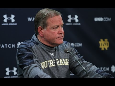 Notre Dame Football Post-Game Press Conference - Virginia Tech
