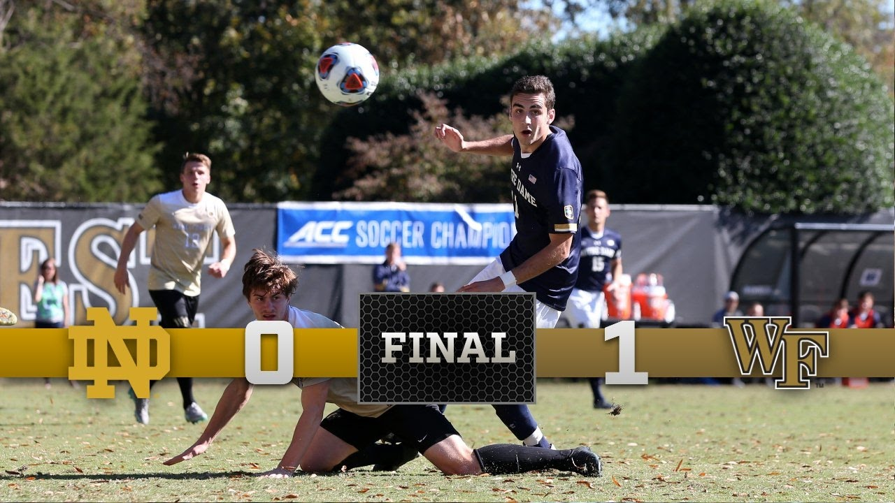 Top Moments - Notre Dame Men's Soccer vs. Wake Forest