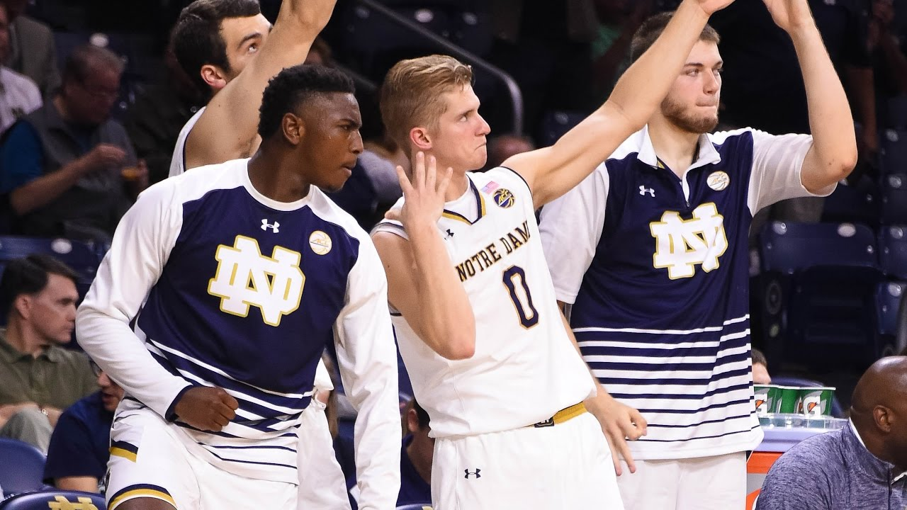 Notre Dame Basketball Highlights vs Mercy