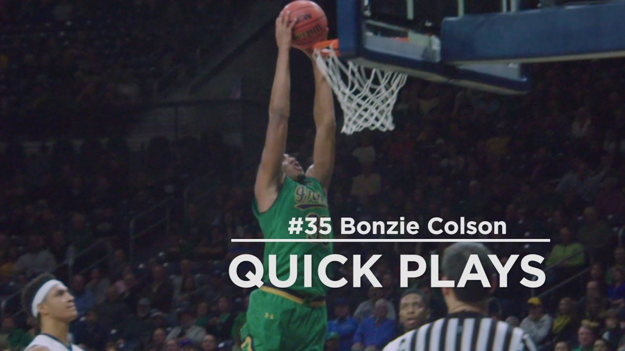 Quick Play | Bonzie Colson Slam Dunk