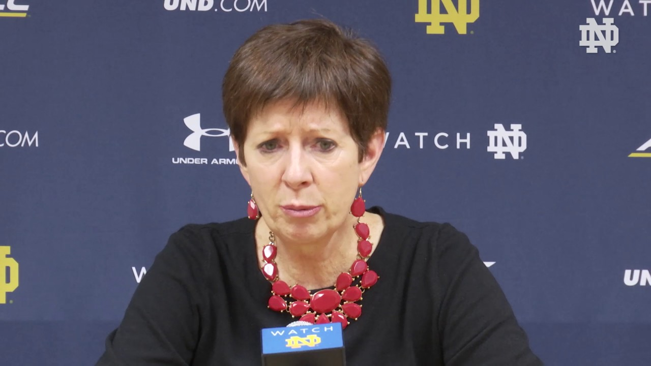 Muffet McGraw Post-Game Press Conference - Wisconsin-Green Bay