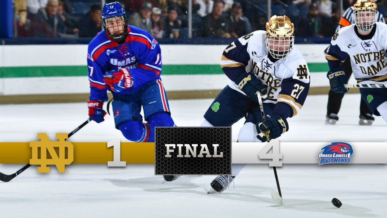 Top Moments - Notre Dame Hockey vs. UMass Lowell