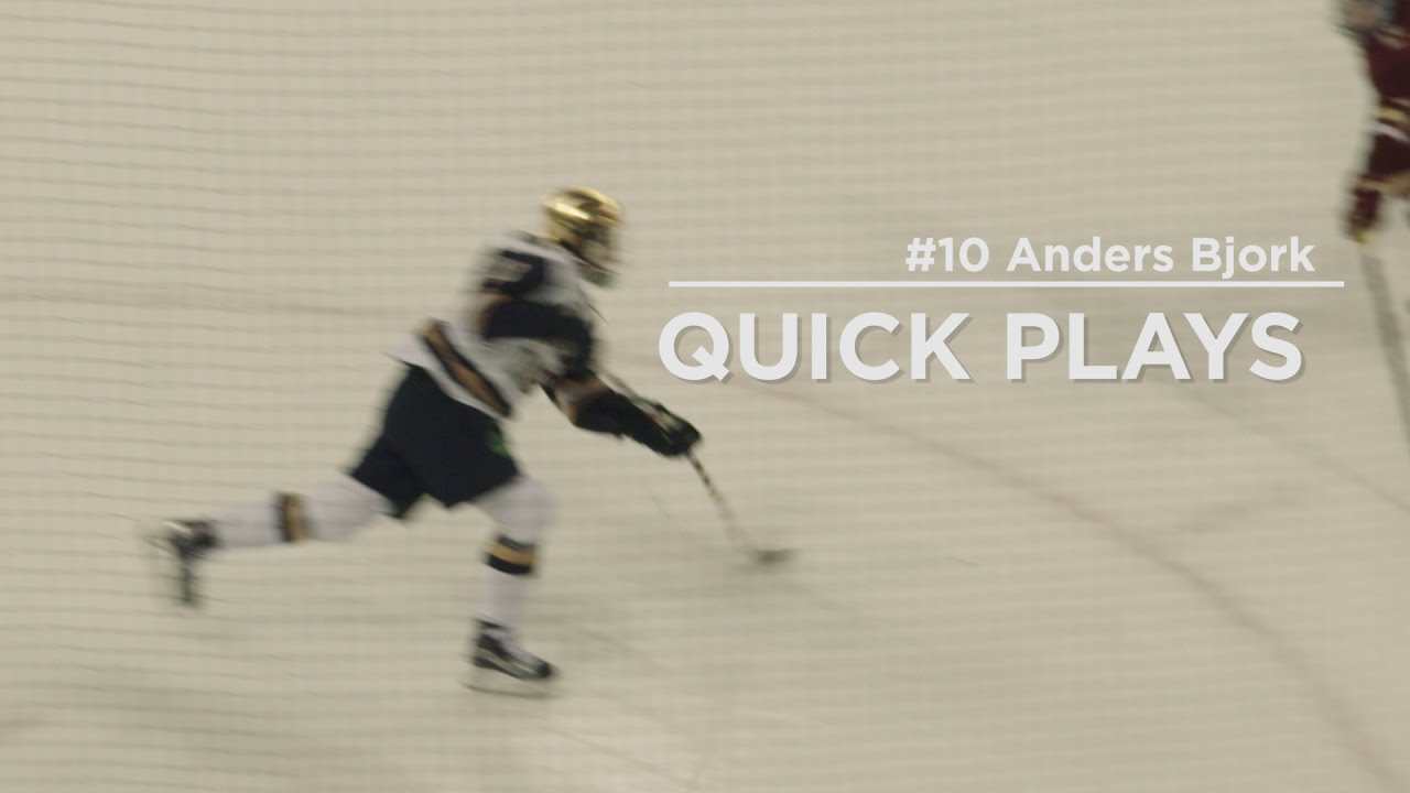 Quick Play | Anders Bjork Game Winning Goal