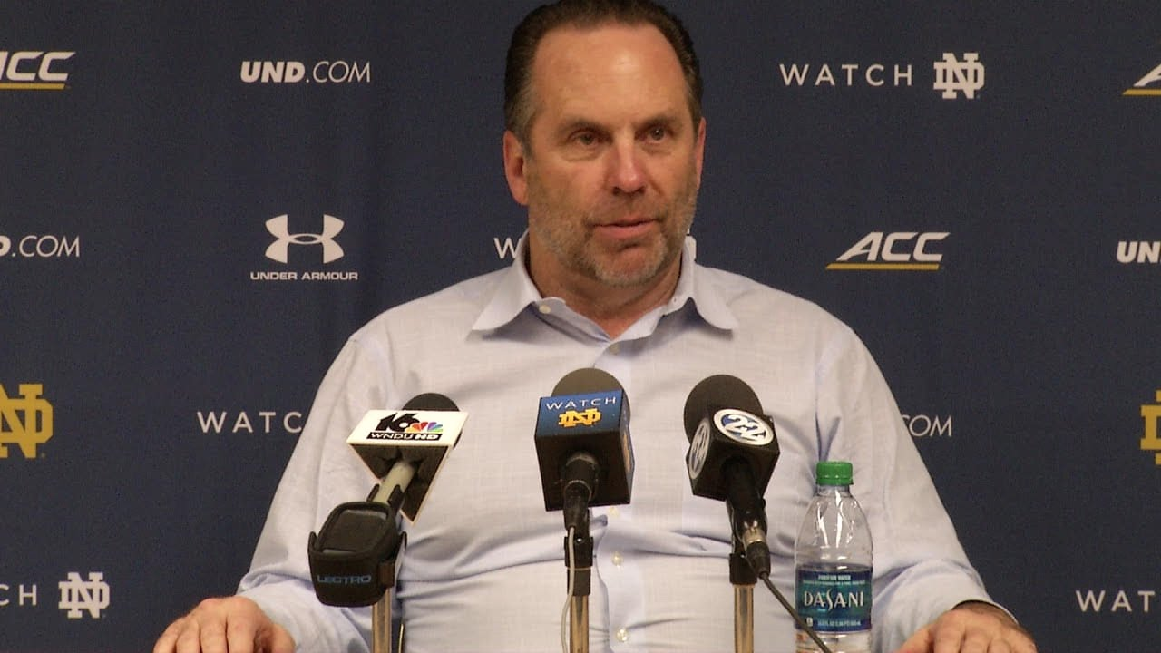 Mike Brey Post-Game Press Conference - Fort Wayne