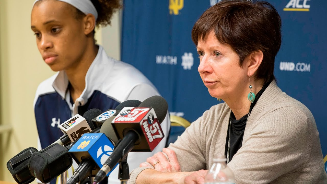 Muffet McGraw Post-Game Press Conference - Wake Forest