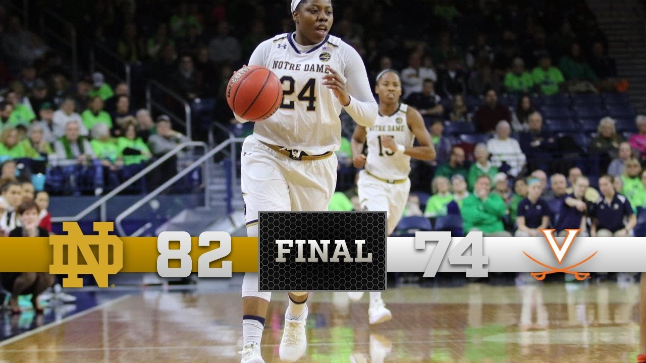 Top Moments - Notre Dame Women's Basketball vs. Virginia