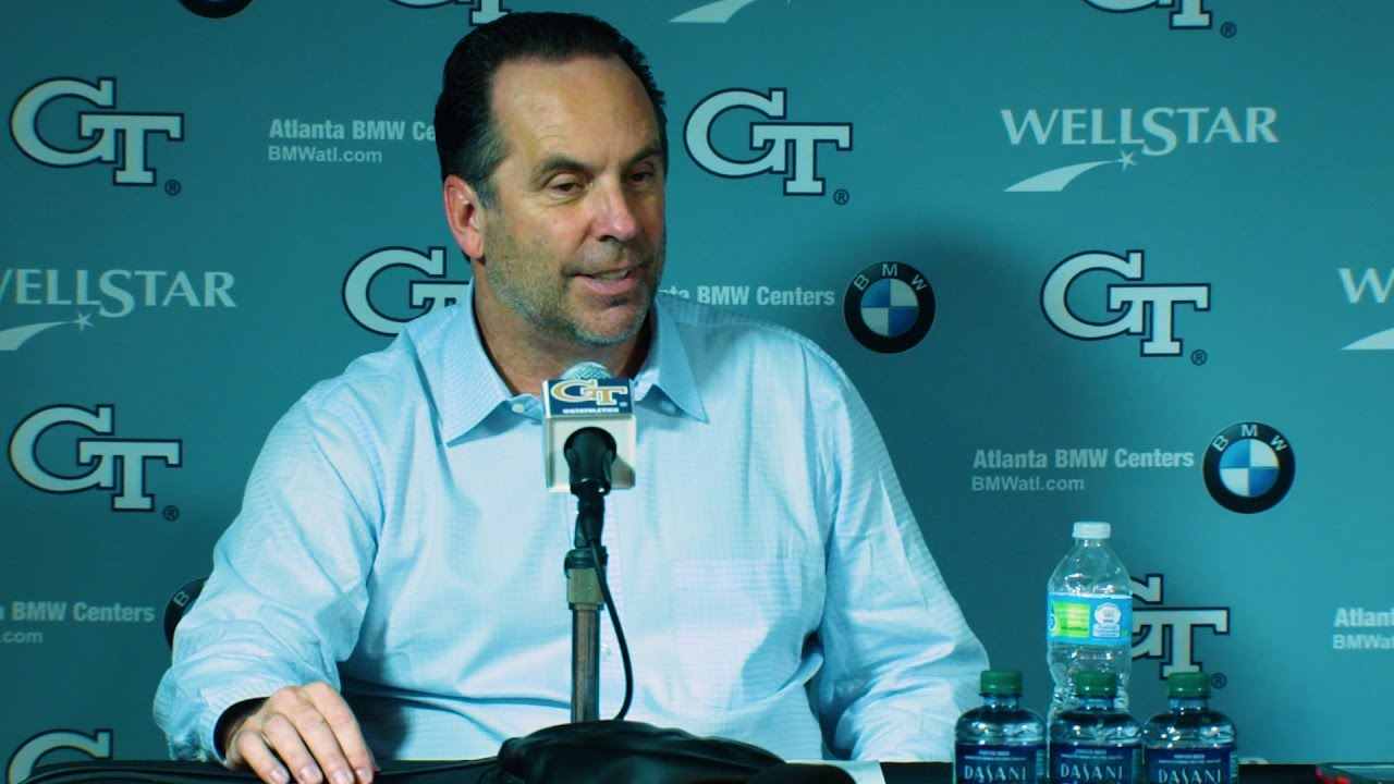 Mike Brey Post-Game Press Conference - Georgia Tech