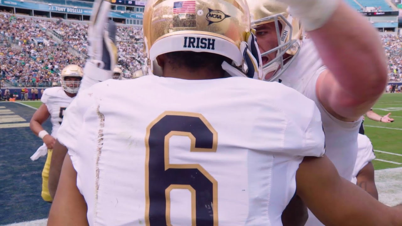 classic fit 158cd 728c5 2016 Irish Football   Equanimeous St. Brown – Notre Dame ...