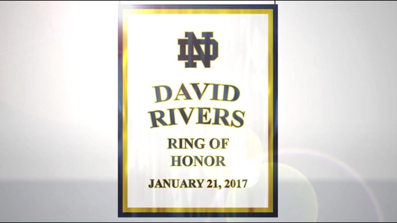 David Rivers Ring of Honor Ceremony