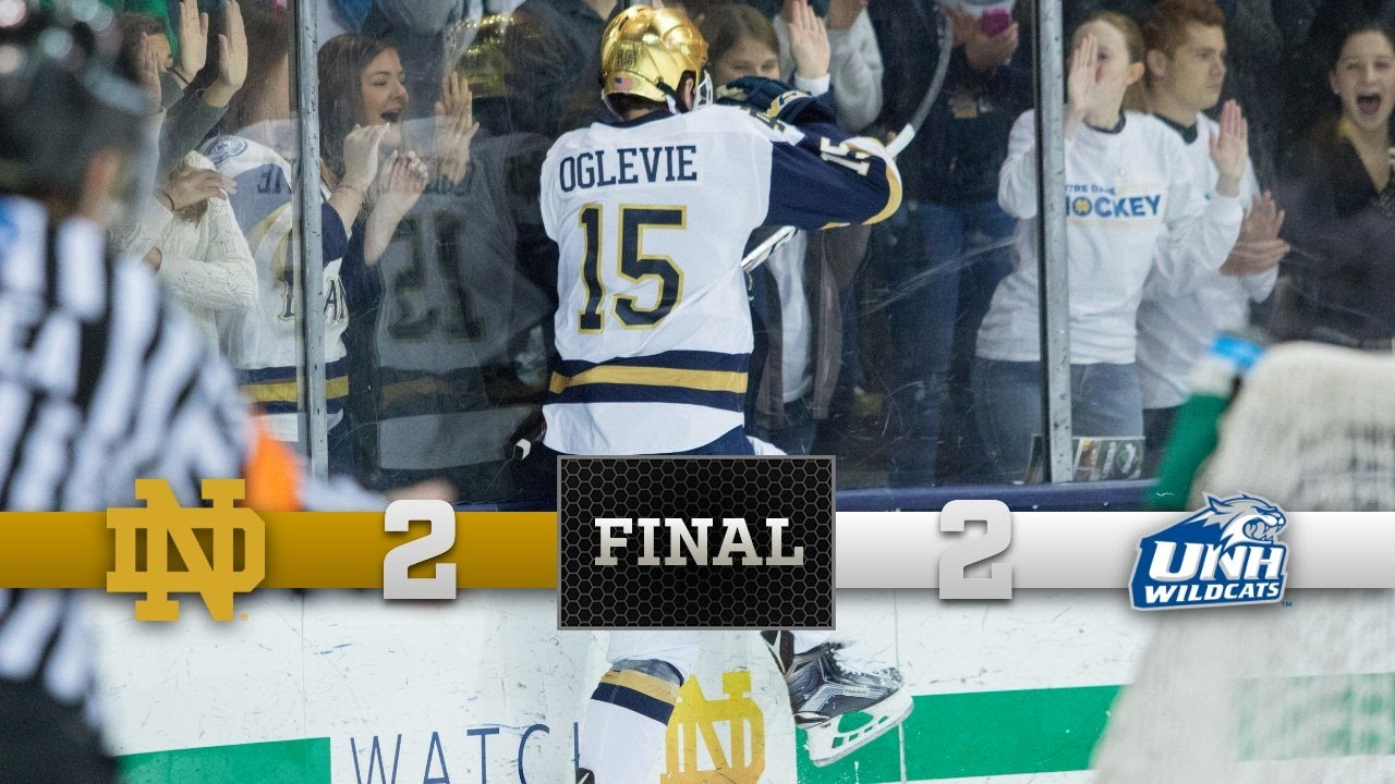 Top Moments - Notre Dame Hockey vs. New Hampshire