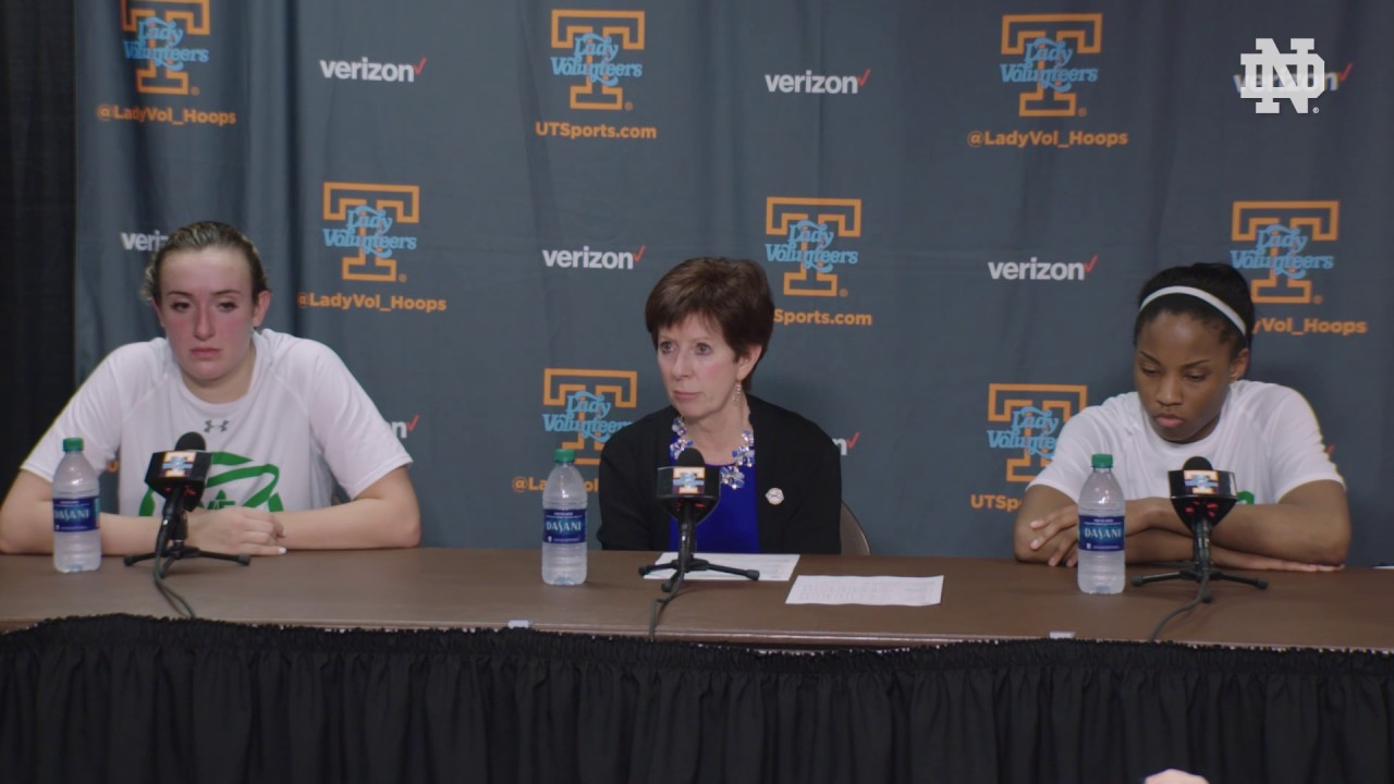 Muffet McGraw Post-Game Presser - Tennessee