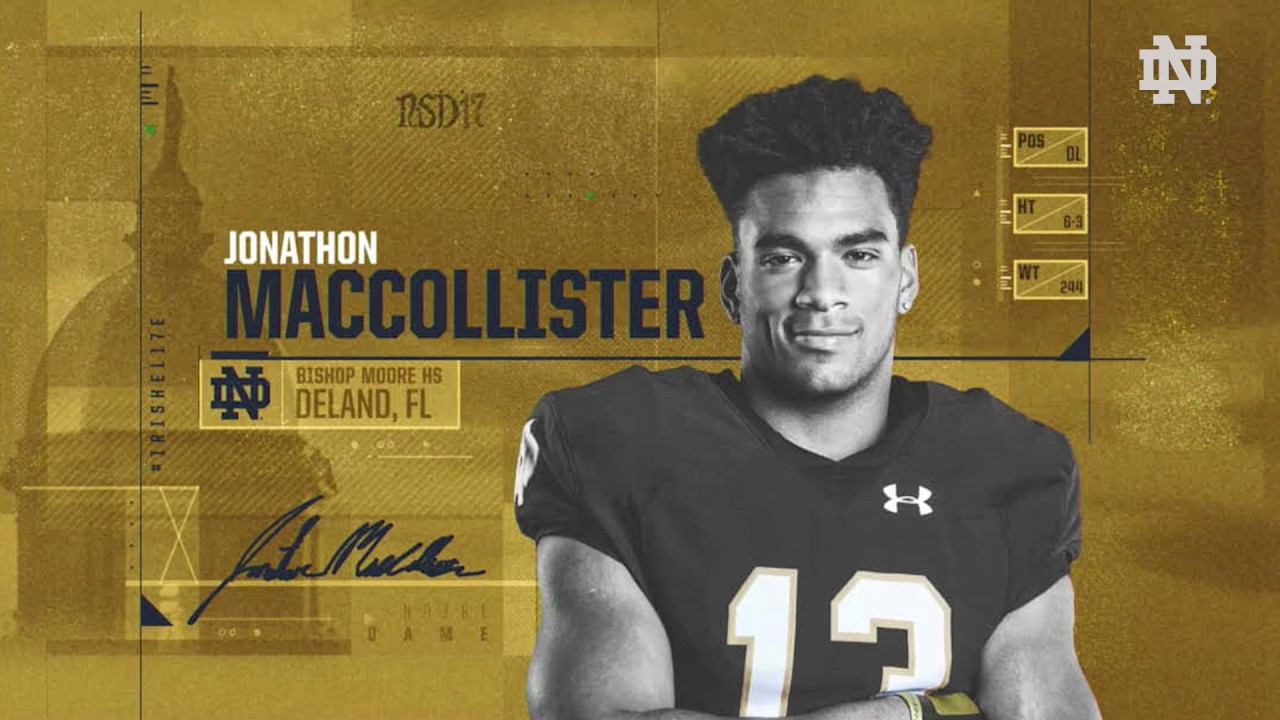The Call - Jonathon MacCollister - 2017 National Signing Day
