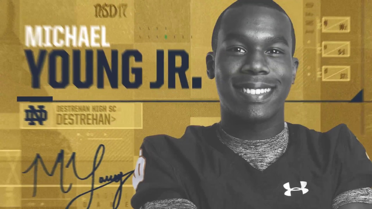 Michael Young Jr Highlights - Notre Dame Football - NSD17