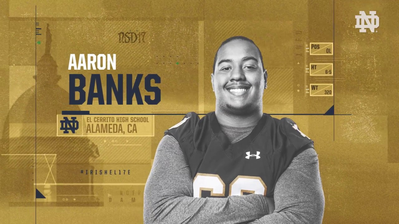 Aaron Banks Highlights - Notre Dame Football - NSD17