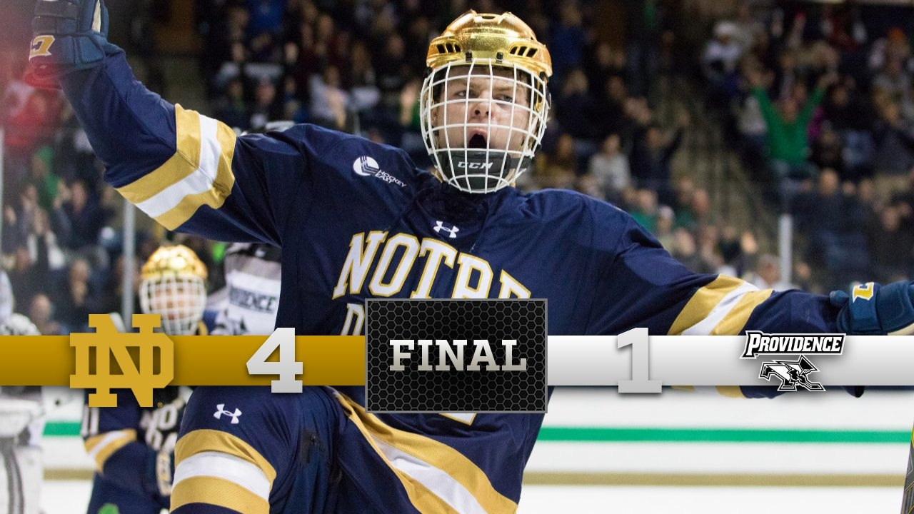 Top Moments - Notre Dame Hockey vs. Providence