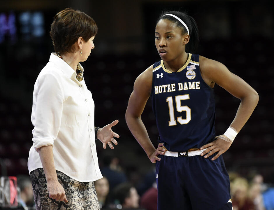 Four of Muffet McGraw's seven times holding a No. 1-seed have come with three-time Nancy Lieberman Award finalist Lindsay Allen at point guard.