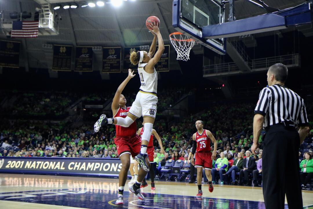 "Brianna Turner's ability to play ""above the rim"" and score on alley-oops makes her one of the country's toughest players to guard."