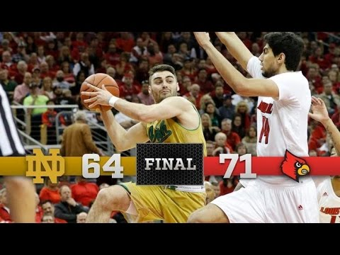Top Moments - Notre Dame Men's Basketball vs. Louisville