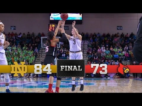 Top Moments - Notre Dame Women's Basketball vs. Louisville