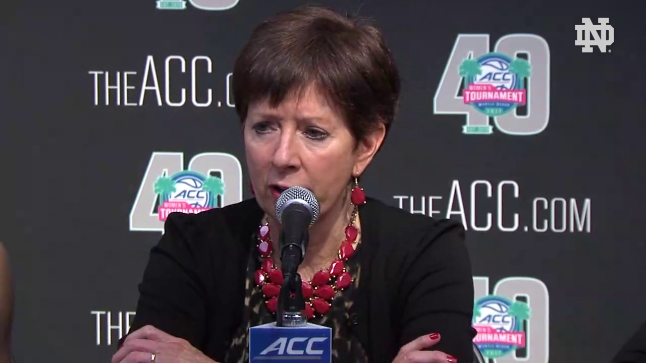 Muffet McGraw Post-Game Press Conference - Virginia (ACC Quarterfinals)