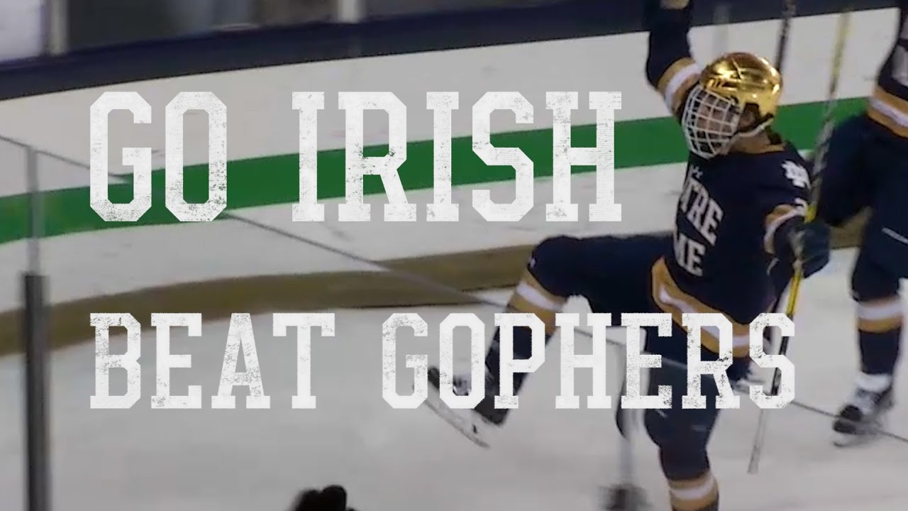 Go Irish, Beat Gophers