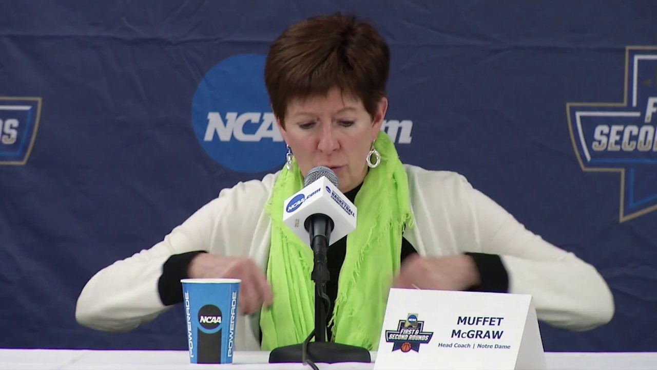 Muffet Mcgraw Postgame Press Conference - Robert Morris