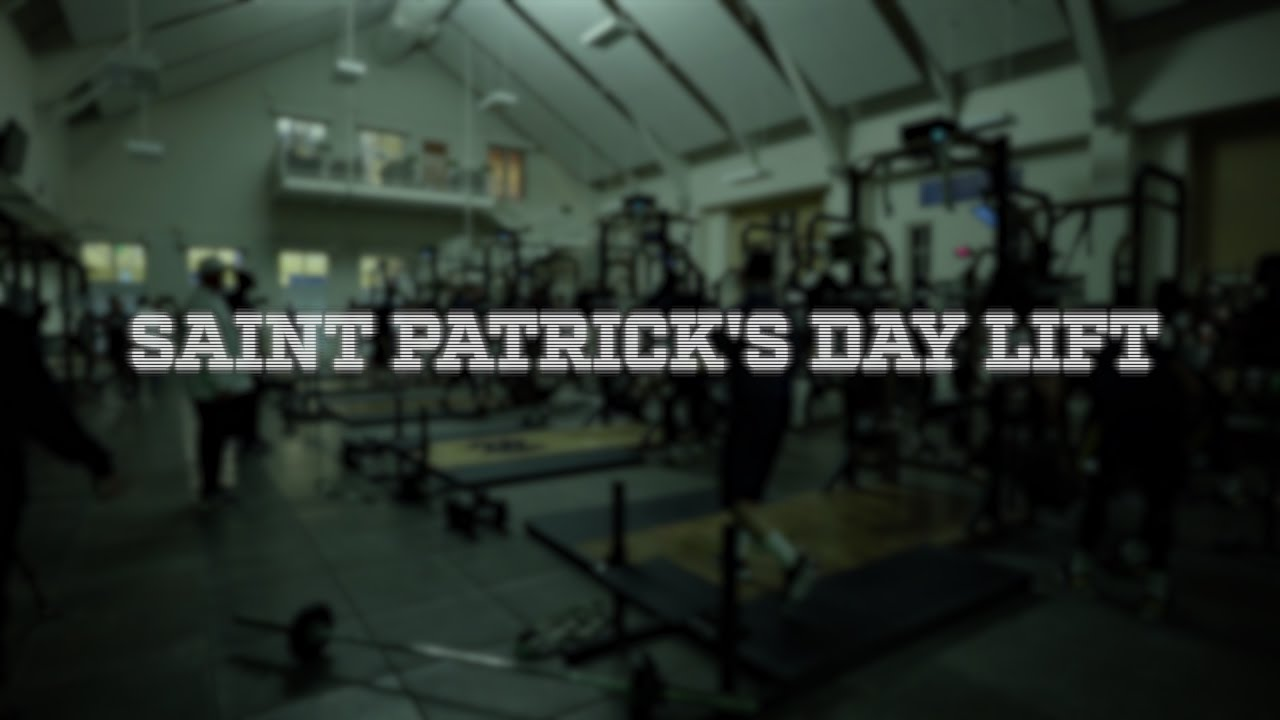 ND Football - St. Patrick's Day Lift