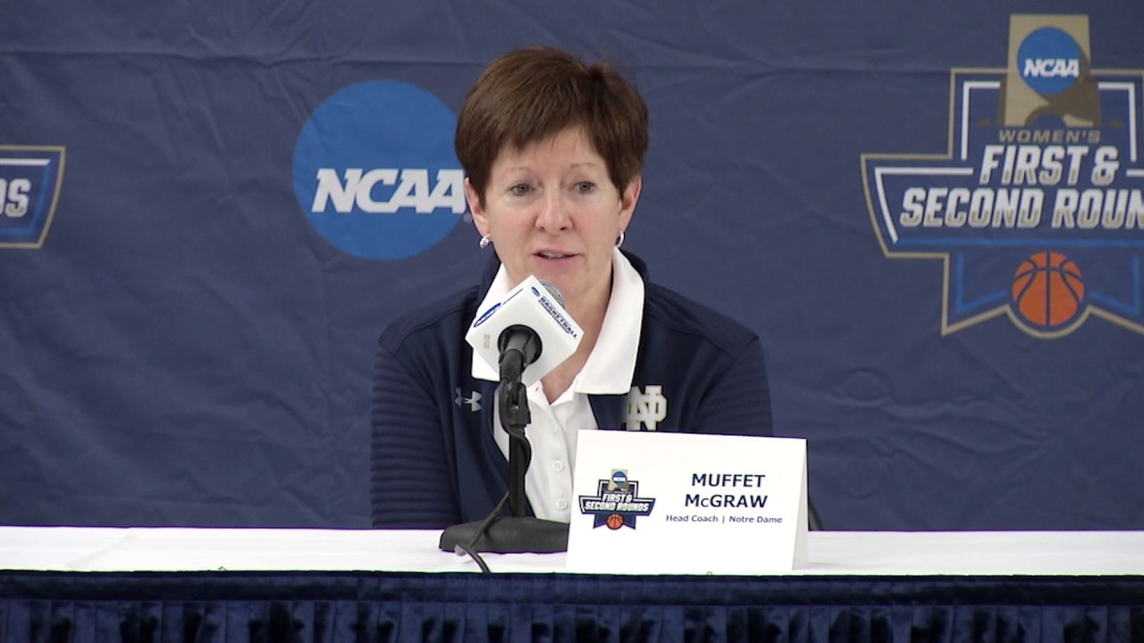 Muffet McGraw Press Conference - Pregame Robert Morris