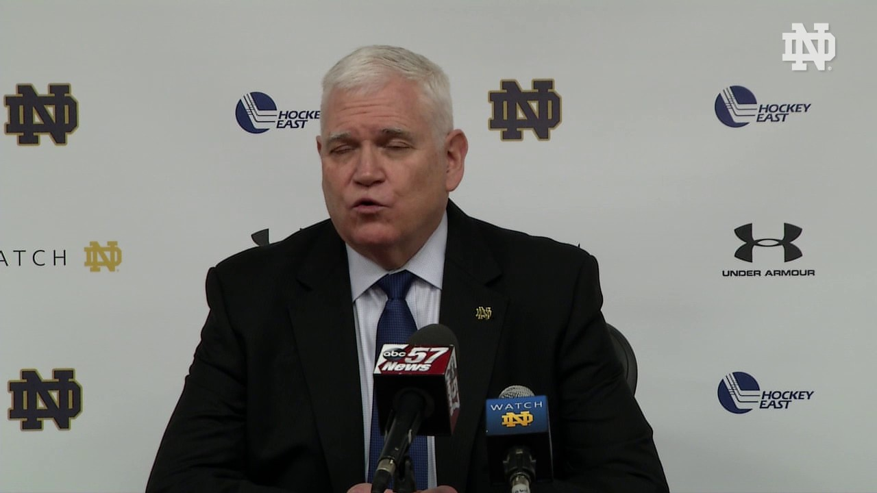 Jeff Jackson Post-Game Press Conference - Hockey East Quarterfinals Game 1