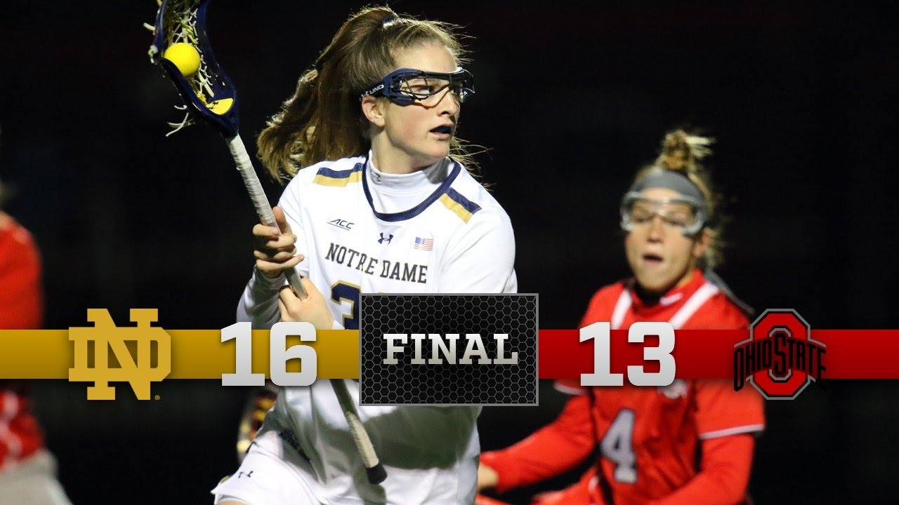 Highlights - Notre Dame Women's Lacrosse vs. Ohio State