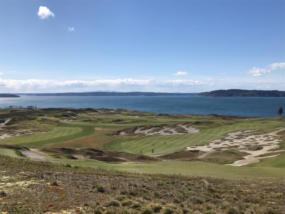 Chambers Bay served magestically as host of the 2015 U.S. Open.