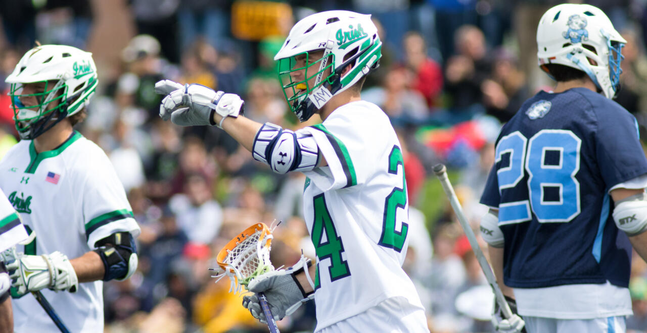 Wynne and Perkovic Lead Irish To Victory Over Tar Heels – Notre Dame