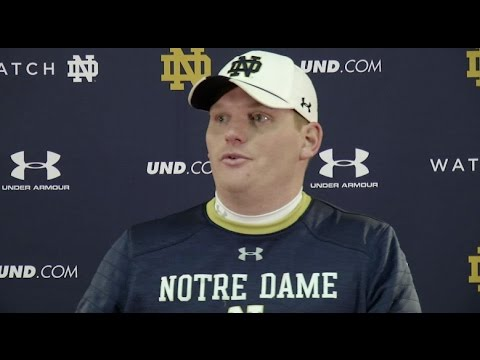 Notre Dame Football - Chip Long Press Conference