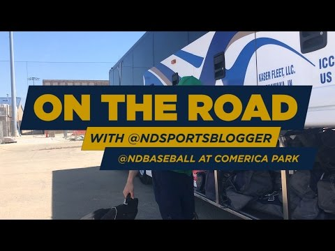 On the road with the @NDSportsBlogger: @NDBaseball at Comerica Park