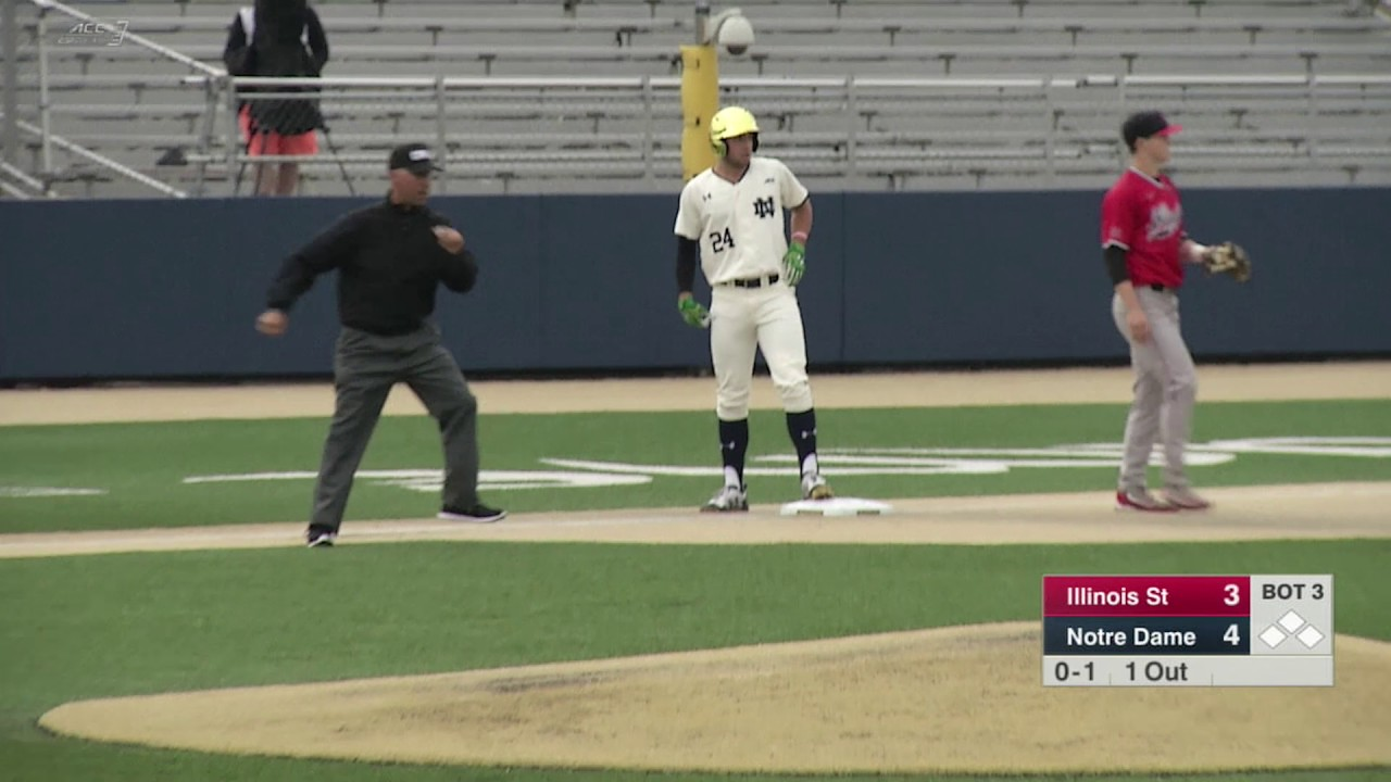 Highlights - Notre Dame Baseball vs Illinois State