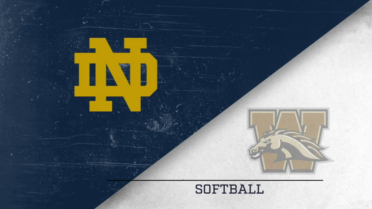 Highlights - Notre Dame Softball vs. Western Michigan