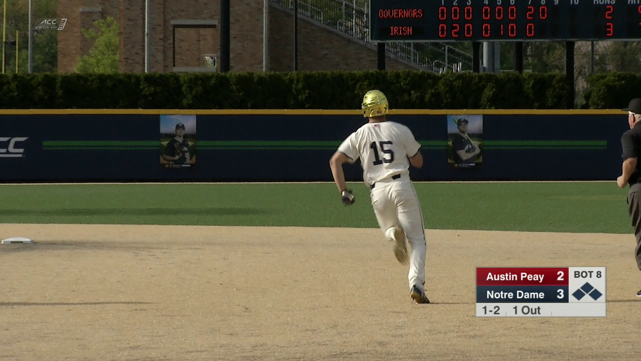 Highlights - Notre Dame Baseball vs. Austin Peay Game 2