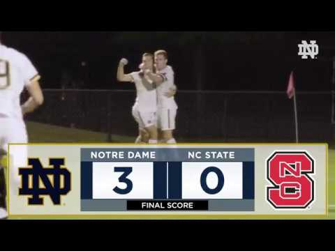 Men's Soccer Highlights vs. NC State
